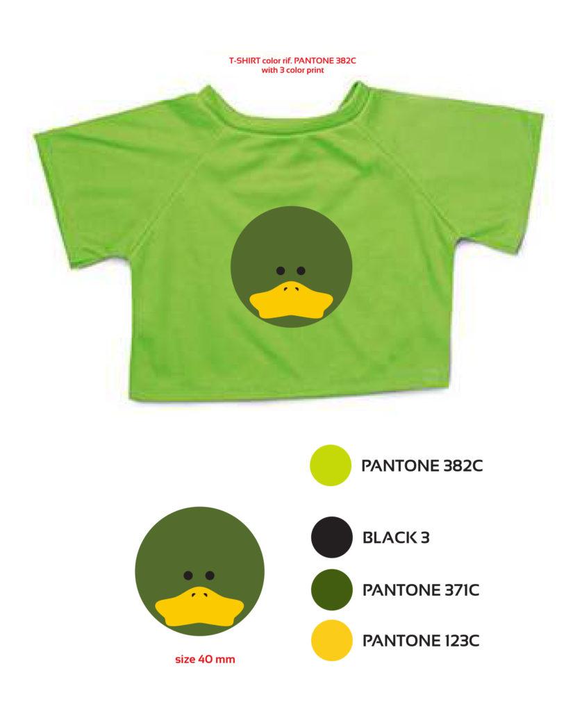 Progettazione t-shirt Paolino Hotel Du Lac et du Parc