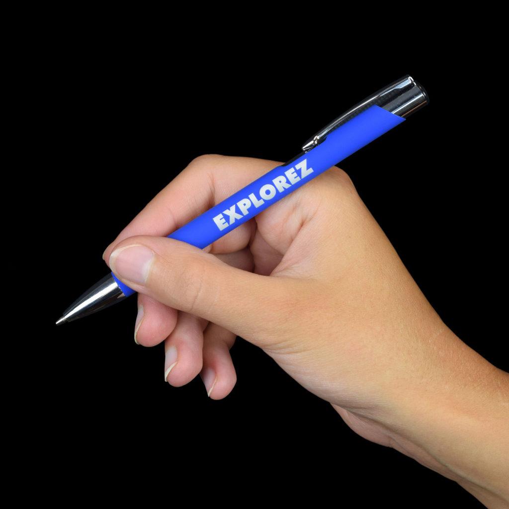 """Penna personalizzata per il Museo Oceanografico di Monaco """"Explorez"""""""