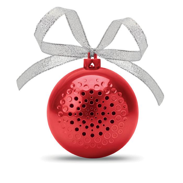 Boccia di Natale con speaker
