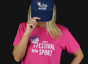 Cappellino personalizzato Festival dello sport 2018