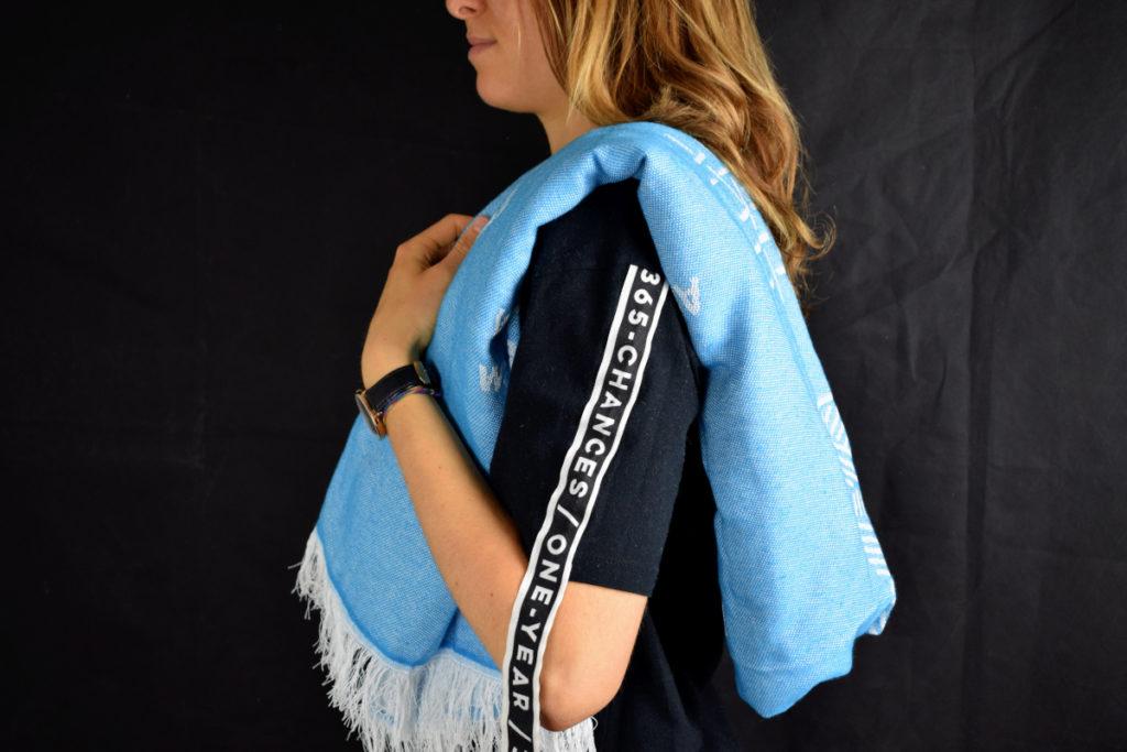 Seatowel asciugamano sostenibile fatto con plastica riciclata