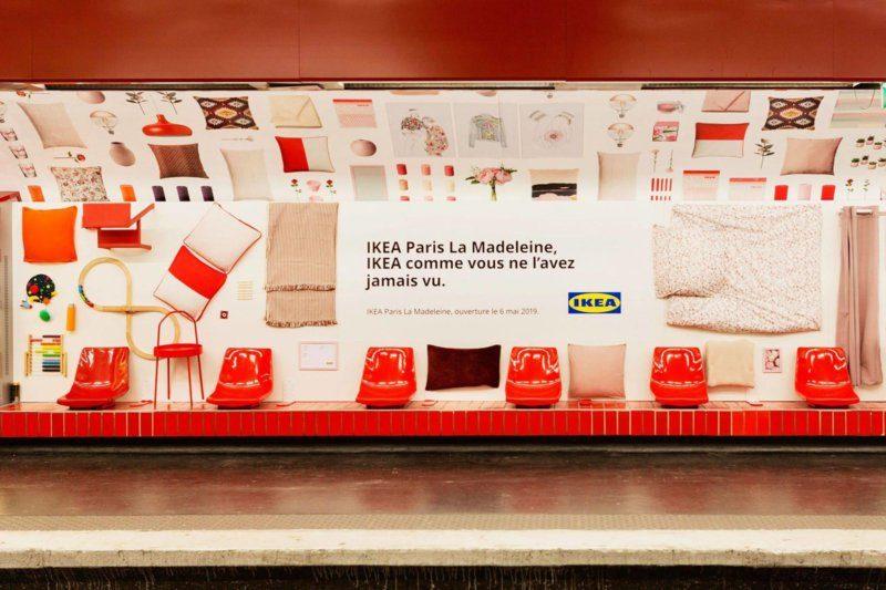 esempio guerrilla marketing Ikea