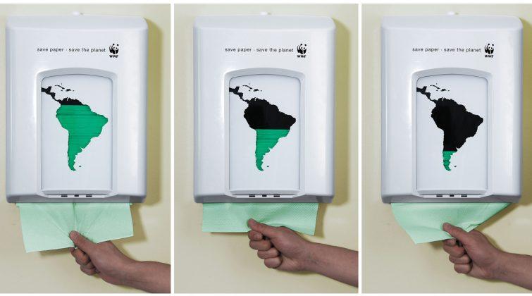 guerrilla marketing campagna pubblicitaria WWF
