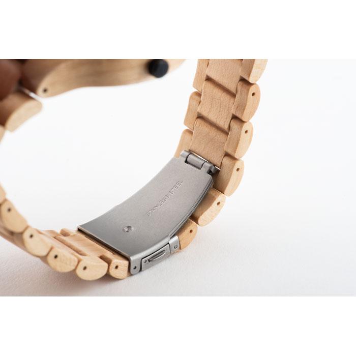Cinturino orologio legno naturale