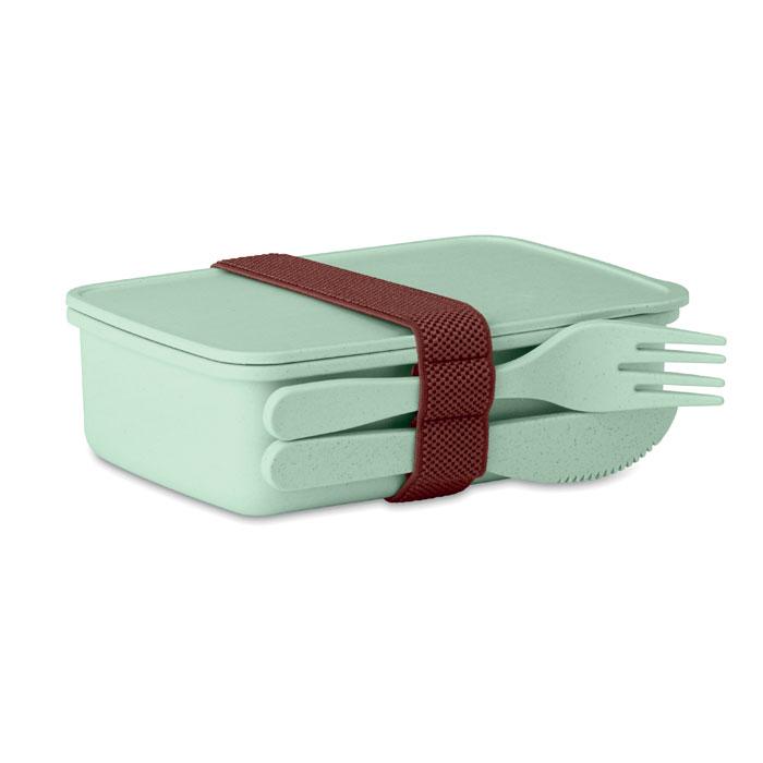 Porta pranzo verde