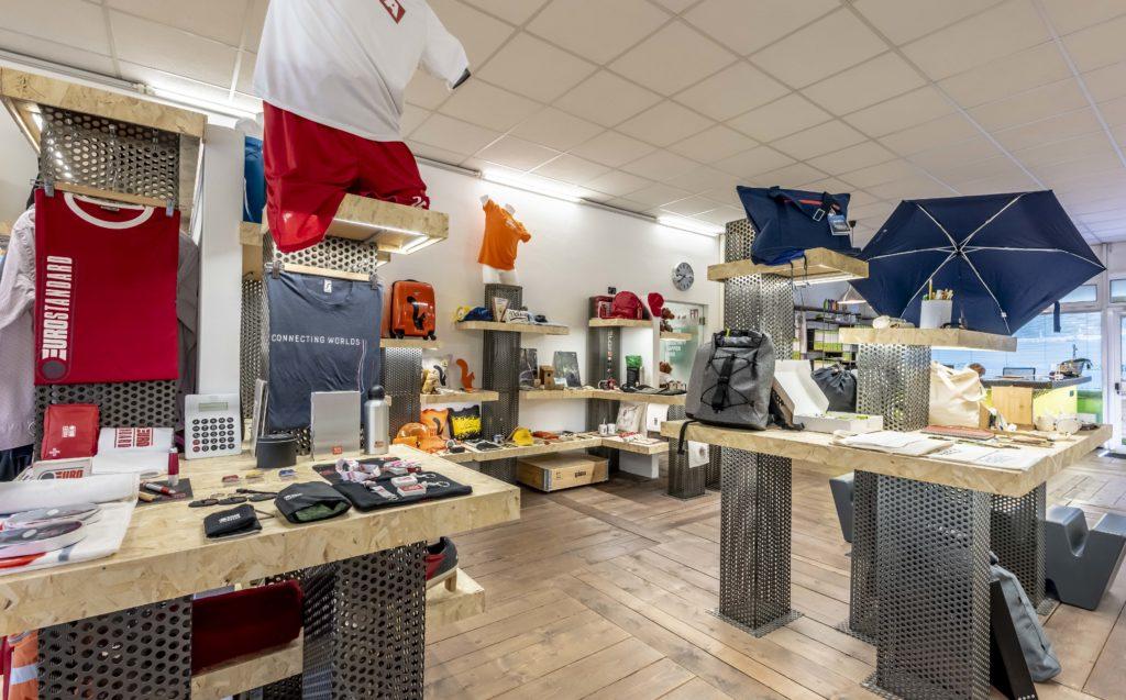 showroom di gadget aziendali