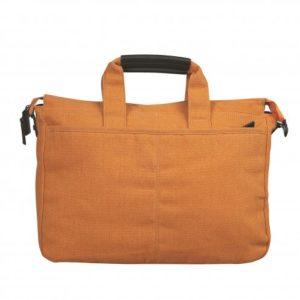 Retro borsa arancione senza tracolla