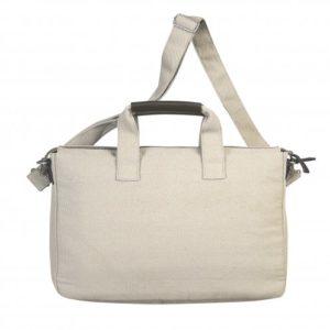 Retro borsa beige con tracolla