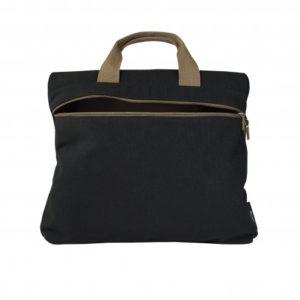 borsa da ufficio retro nero