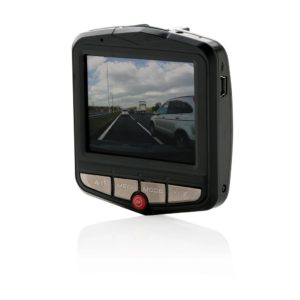 dashcam con display acceso