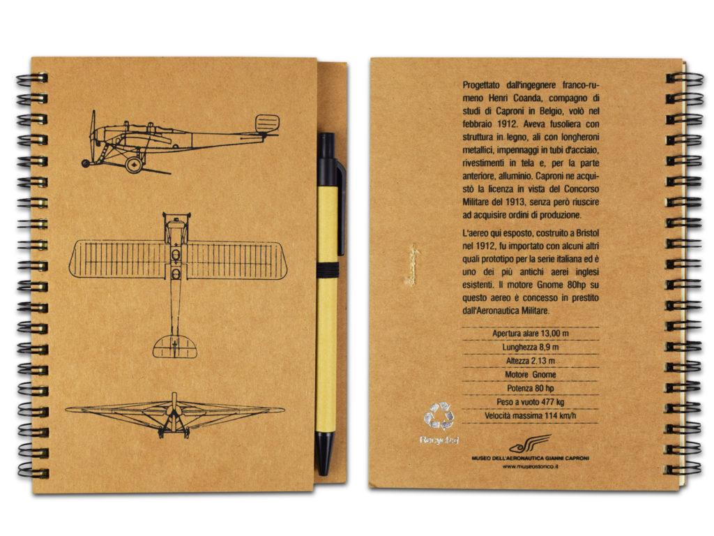 notes in carta naturale con modelli di aerei