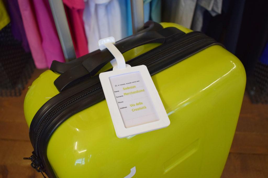 etichetta per bagaglio personalizzata sadesign per musement