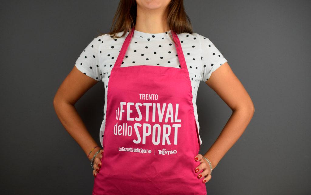 grembiule per il festival dello sport 2019