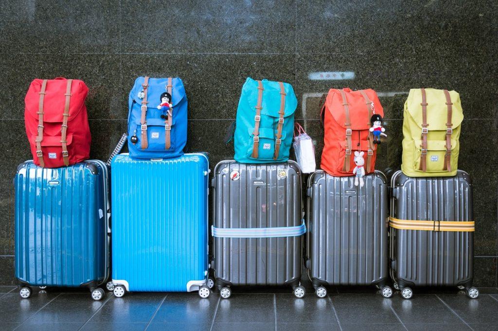 valigie in aeroporto