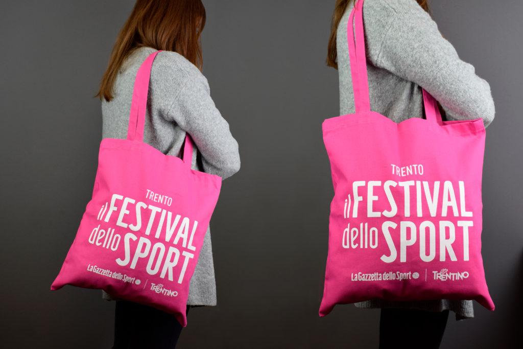 shopper rosa festival dello sport