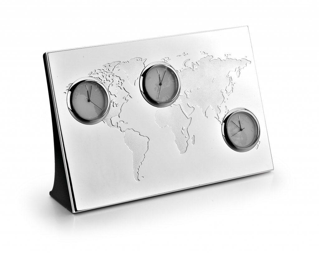 orologio pregiato con fuso orario