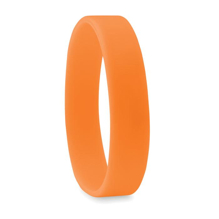 braccialetto in silicone arancione