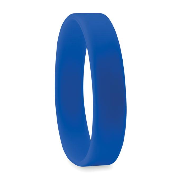 braccialetto in silicone blu