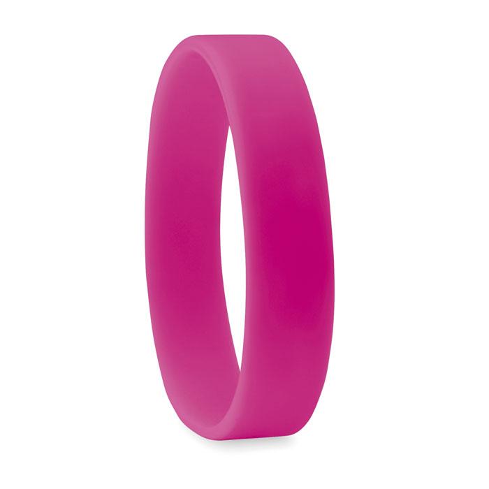 braccialetto in silicone viola