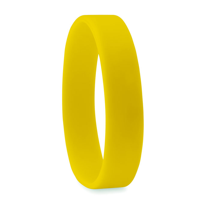 braccialetto in silicone giallo