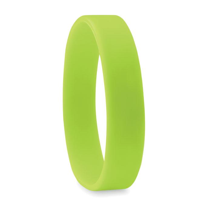 braccialetto in silicone verde