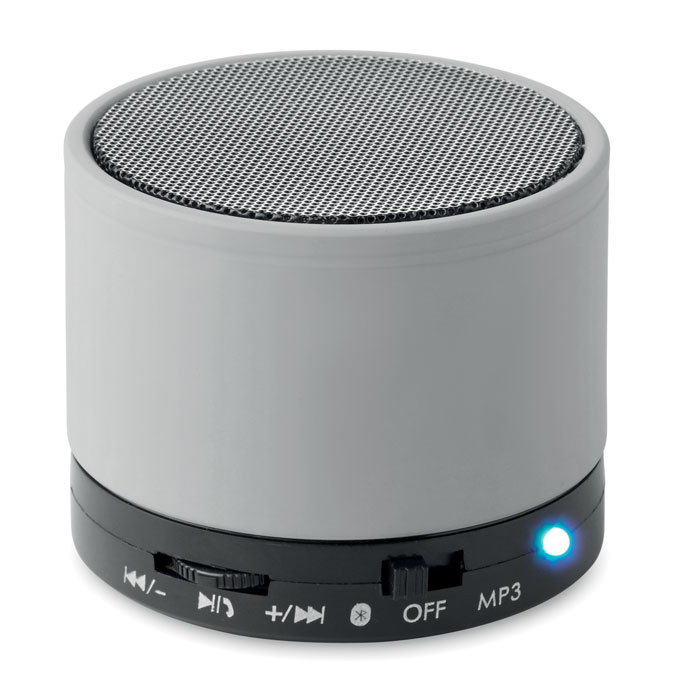speaker bluetooth colore argento