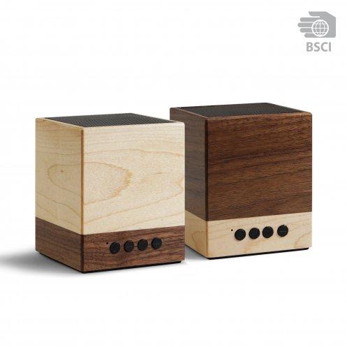 due speaker bluetooth in legno