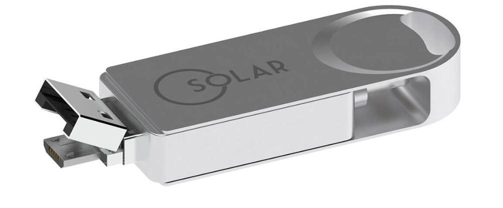 Chiavetta USB in alluminio multifunzione