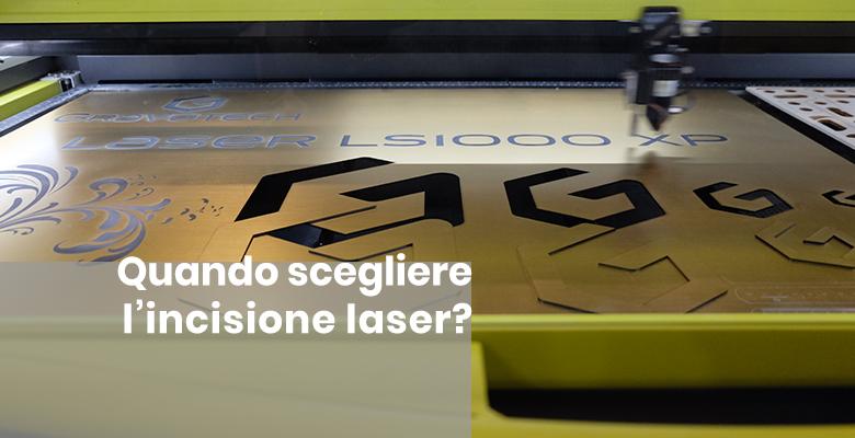incisione laser per la personalizzazione di gadget