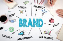 infografica per spiegare significato di brand