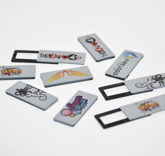 copri webcam personalizzati con disegni e colori