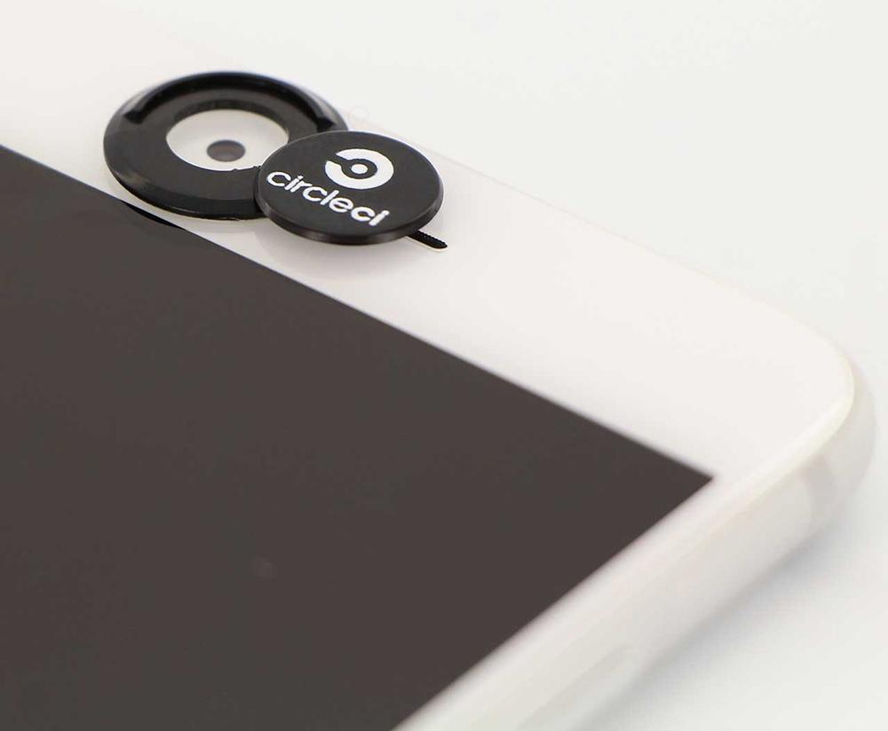 copri camera tondo per smartphone