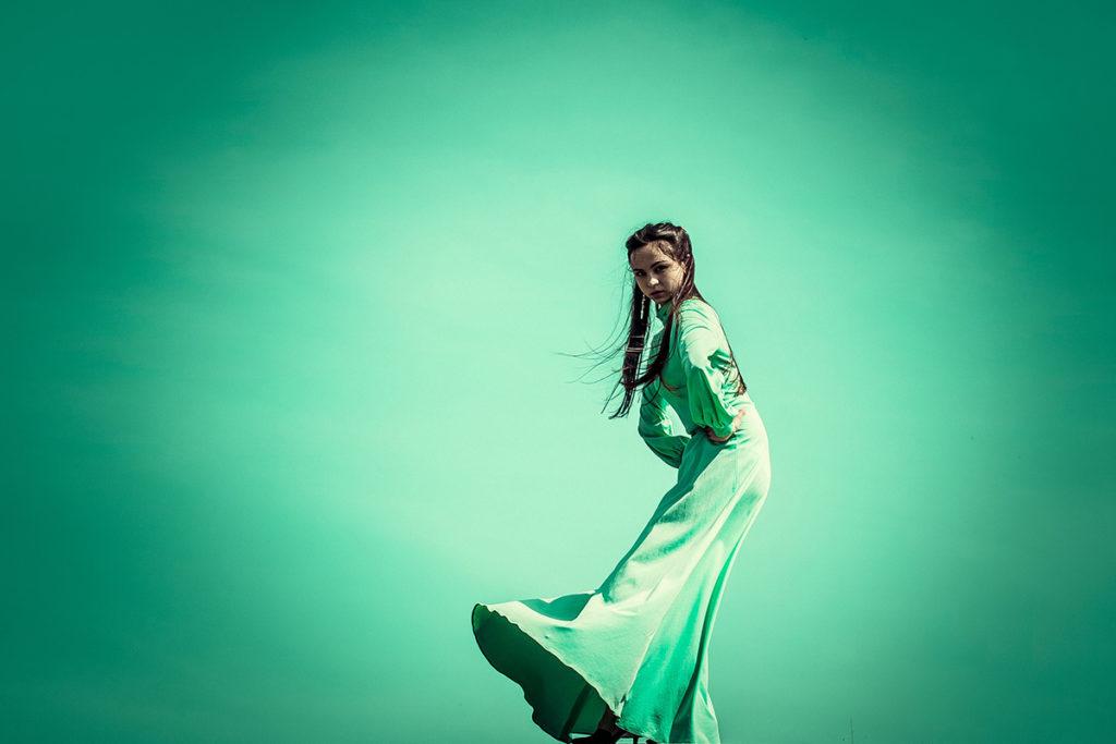 vestito colore moda 2020 neo mint