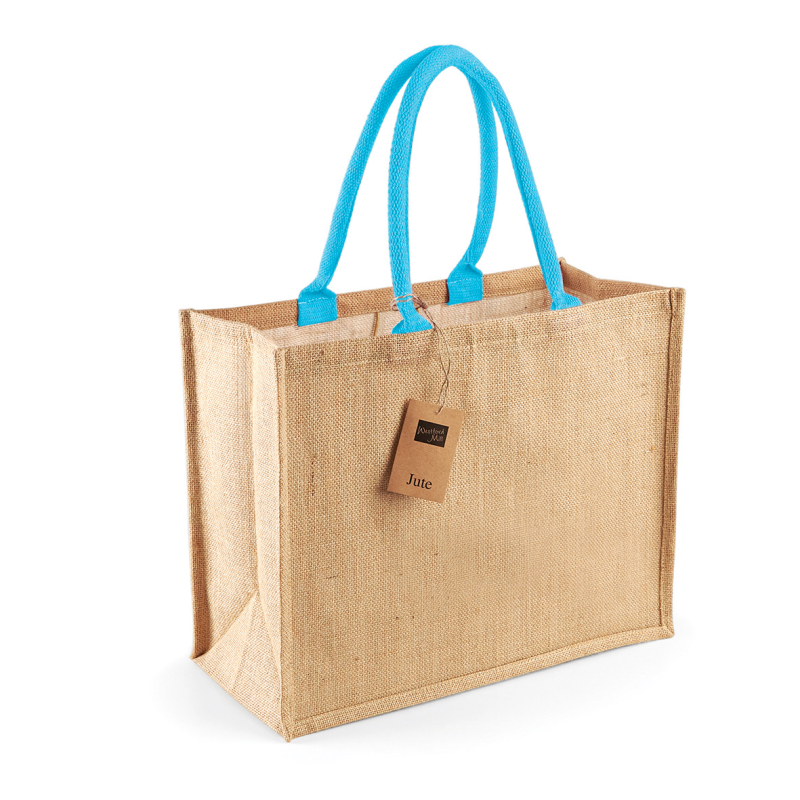 shopper personalizzabile in juta