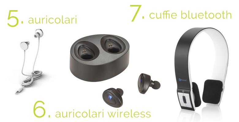 tipi di auricolari e cuffie per lavorare in smart working
