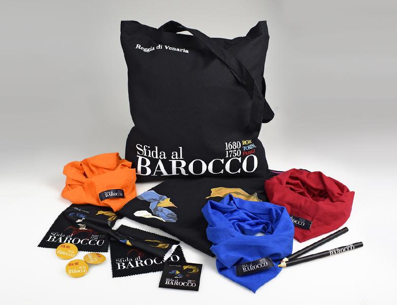 gadget della mostra Sfida al Barocco