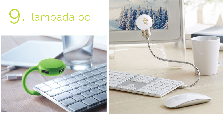 lampade con attacco usb per la tastiera