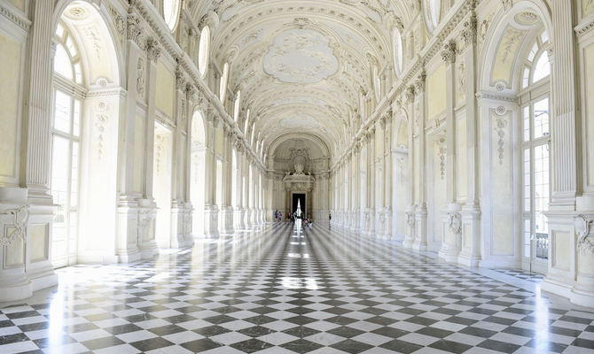 interno della Reggia di Venaria a Torino