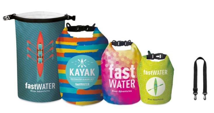 sacca waterproof personalizzabile
