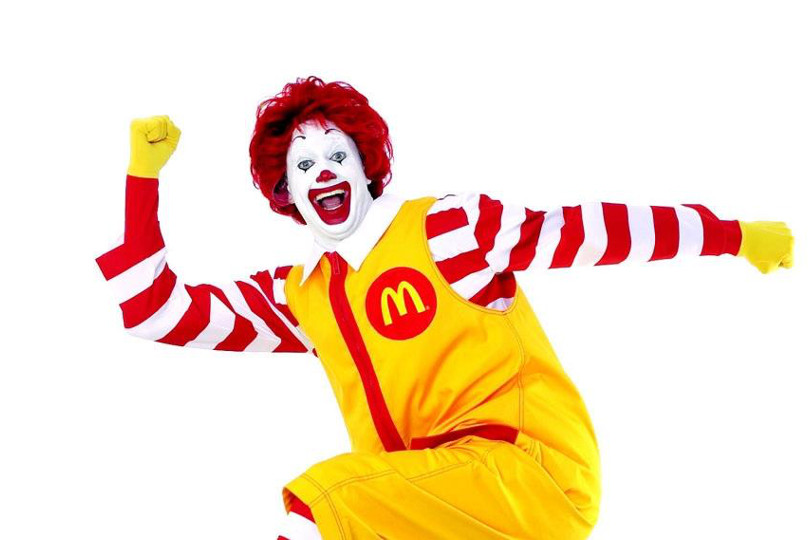 Ronald McDonald clown di McDonald
