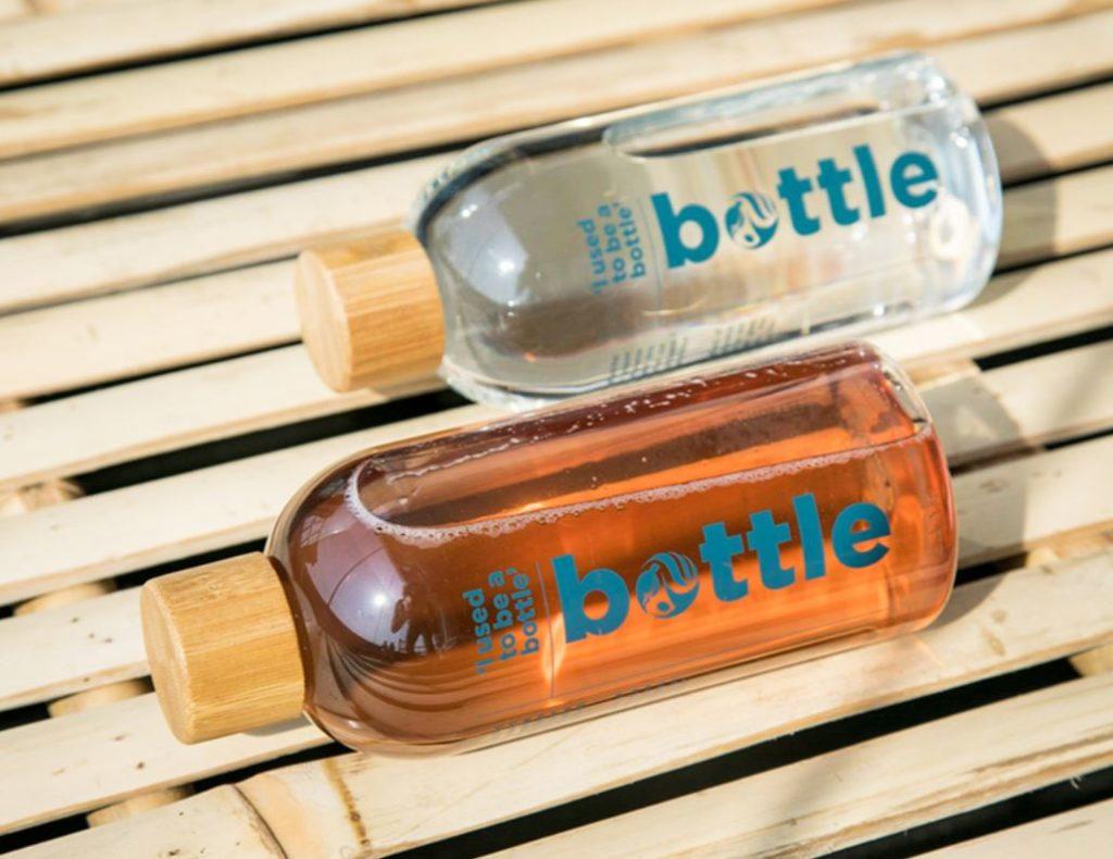 bottiglie ricilate sadesign
