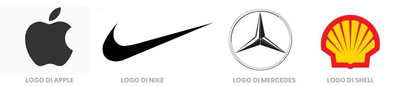 esempi di loghi pittogrammi o simboli
