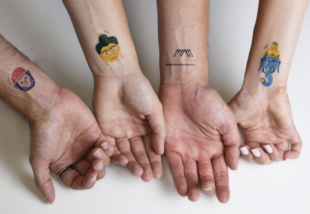 tatuaggi temporanei personalizzati