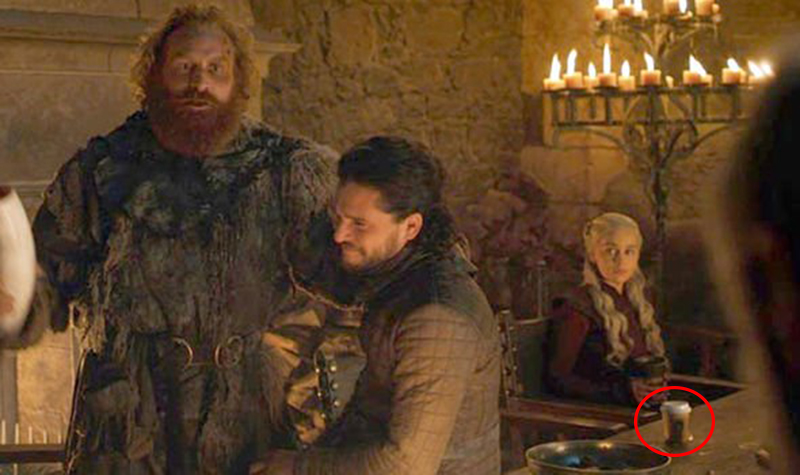 product placement in game of thrones