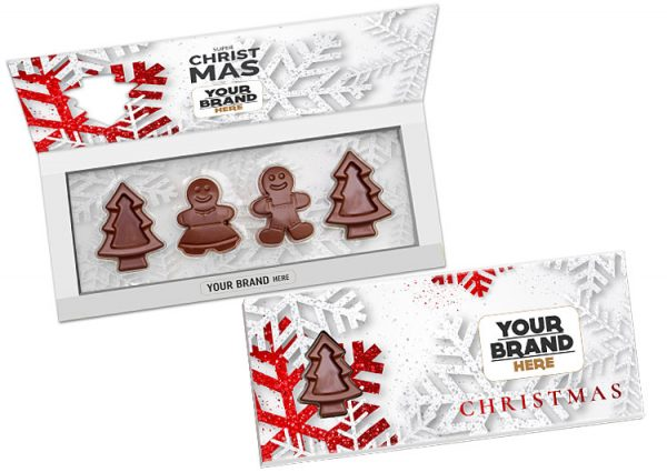 cioccolatini di Natale con packaging personalizzabile