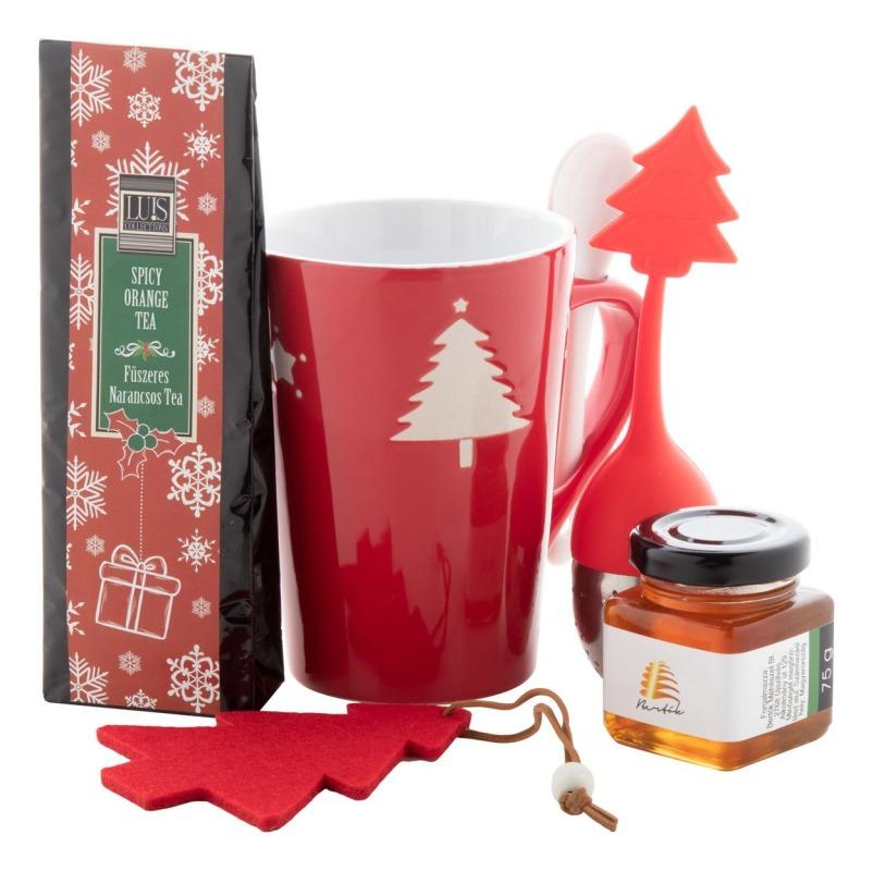 set regalo di Natale per bere il tè