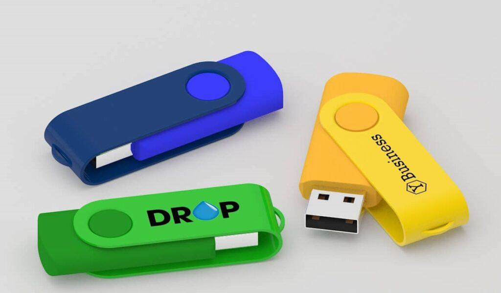 chiavette usb personalizzate di gomma colorate