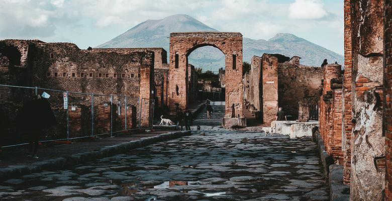 pompei, sede archeologica set di Father and son, un gioco che unisce arte e videogiochi