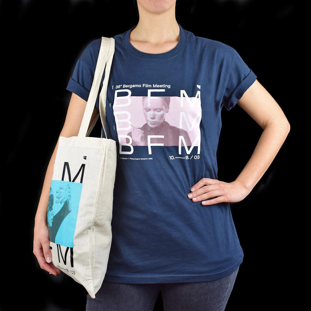 t-shirt e shopper Bergamo Film Meeting