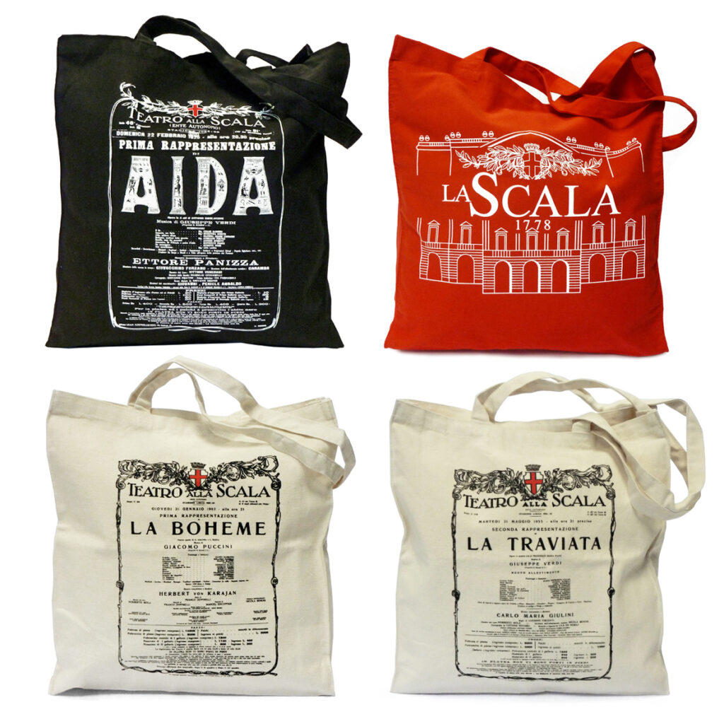 Merchandising museale La Scala (shopper)